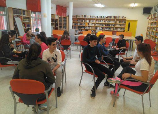 FORMACIÓN EN ALUMNADO ACOMPAÑANTE: ACCIONES QUE NOS DAN PLACER