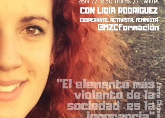 Tweetentrevista SORORA!#DiversasContraLaViolencia