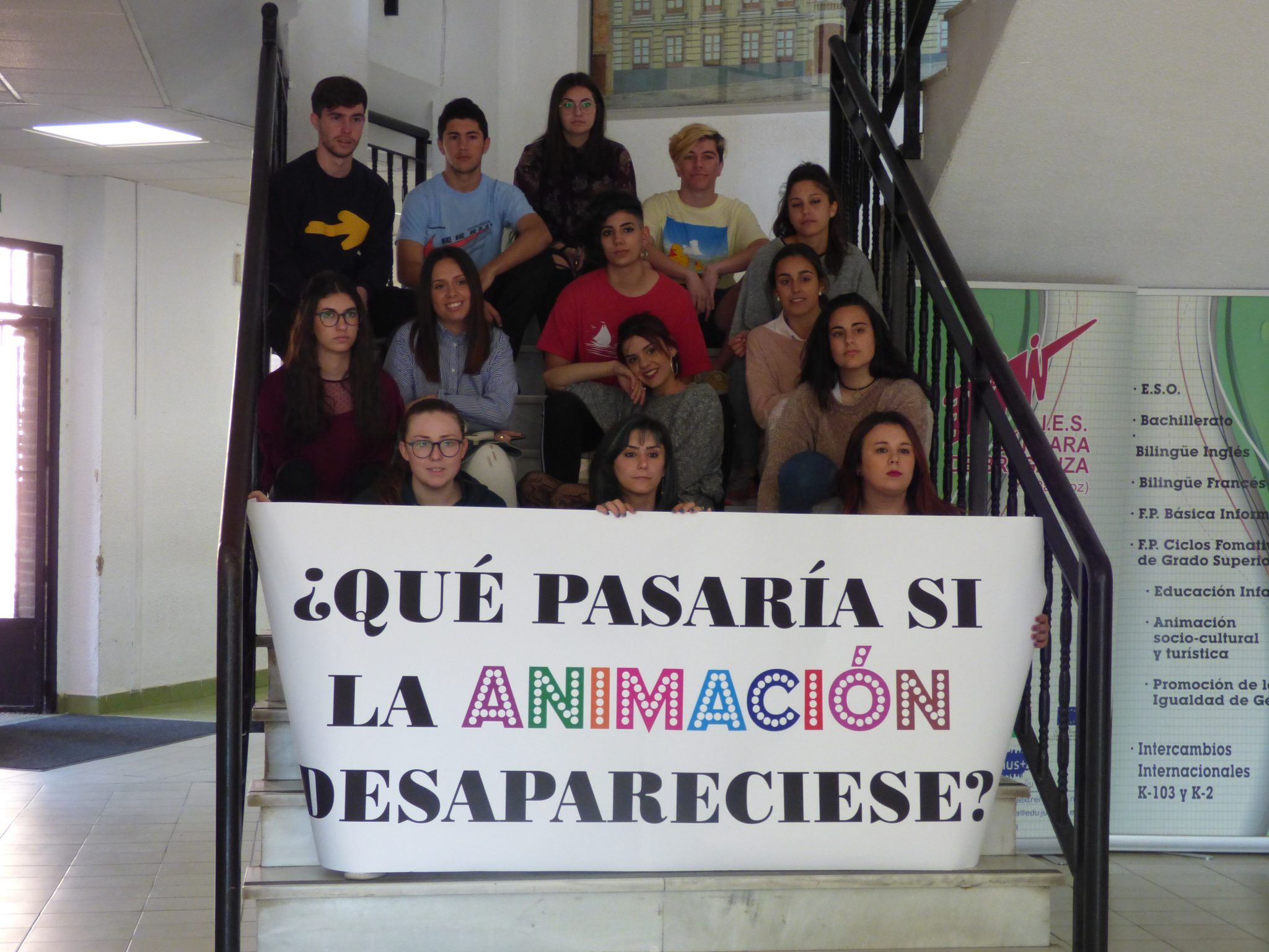 Colectivo Cala en el VI International Youth Film Festival de Plasencia