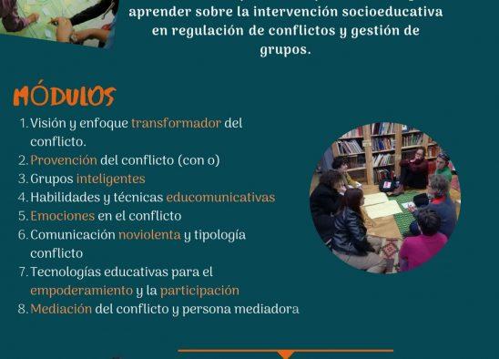 ABIERTO EL PLAZO DE INSCRIPCIÓN PARA EL MASTER DE REGULACIÓN DE CONFLICTOS Y GESTIÓN DE GRUPOS