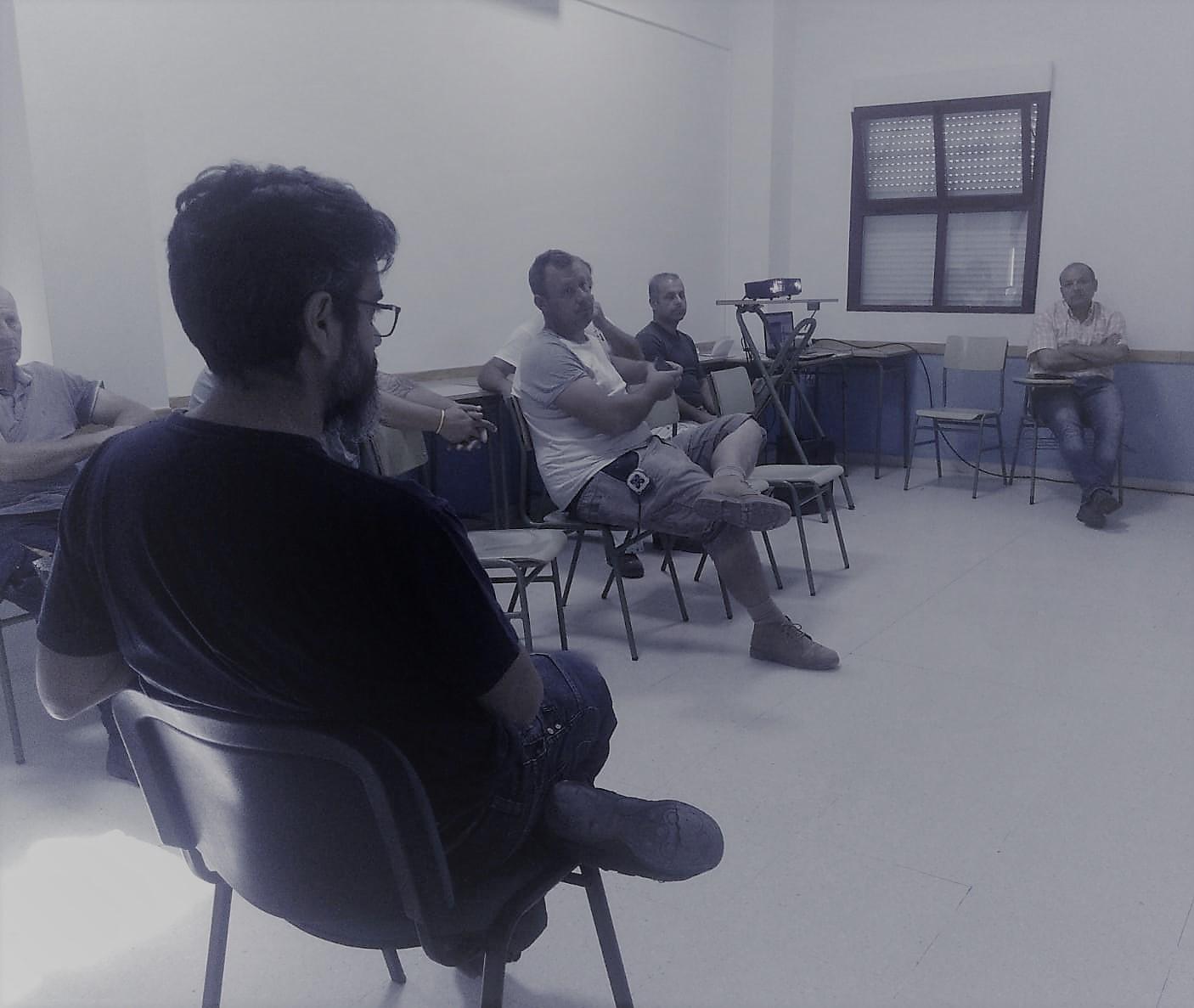 TALLER DE IGUALDAD PARA HOMBRES CONTRATADOS POR EL AYUNTAMIENTO DE ALBURQUERQUE