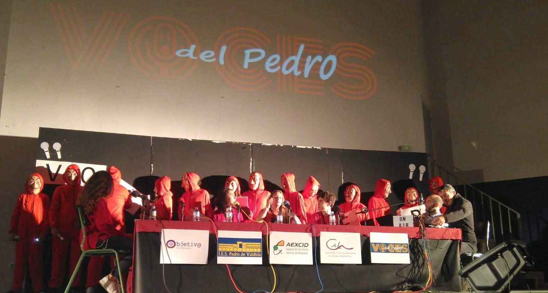 """Objetiv@ en el IES Pedro de Valdivia es """"como estar en el aire"""""""
