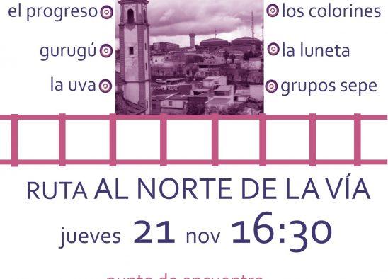 Ruta #AlNorteDeLaVía
