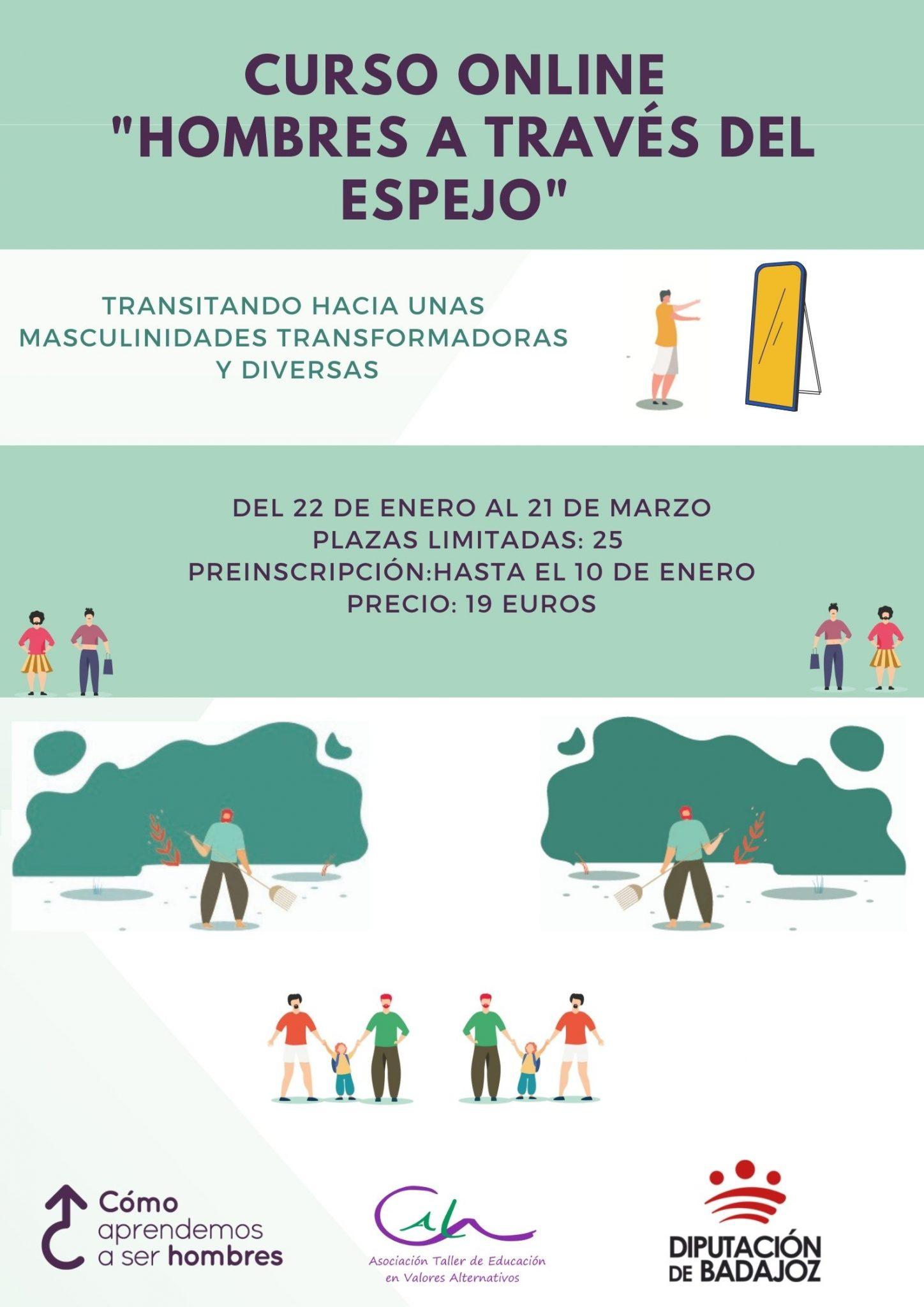 ESTRENAMOS ESPACIO DE FORMACIÓN VIRTUAL CON CURSO DE MASCULINIDADES