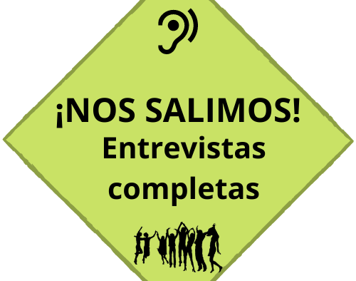 PRIMERA HORNADA DE ENTREVISTAS COMPLETAS. NOS SALIMOS!