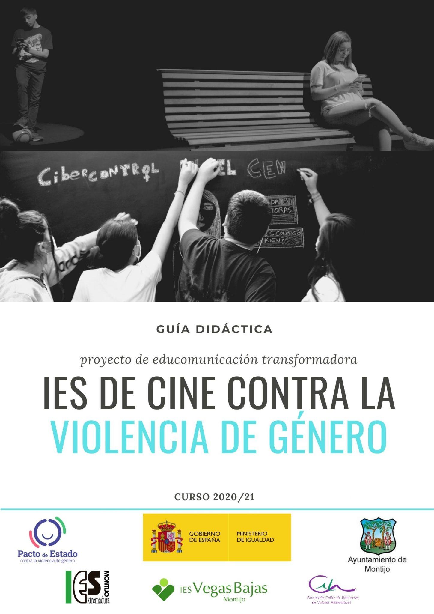 """GUÍA DIDÁCTICA """"IES DE CINE CONTRA LA VIOLENCIA DE GÉNERO"""""""