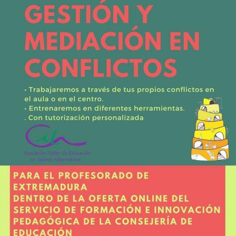 COMENZAMOS EL CURSO DE GESTIÓN Y MEDIACIÓN EN CONFLICTOS